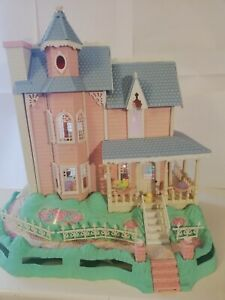 Fisher Price Precious Places Magic Key Mansion Clefs House Village Vintage Ebay