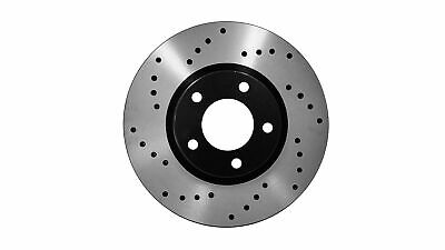Fit 11-16 Volkswagen Passat Front Coated Drill/&Slot Brake Rotors Ceramic Pads