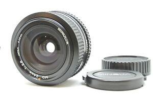 Neuwertig-Minolta-NEU-MD-24mm-f-2-8-Weitwinkel-Objektiv-fuer-SLR-aus-Japan-201849