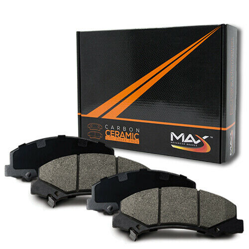 2010 2011 Ford F-150 w//6 Lug Rotor Max Performance Ceramic Brake Pads R