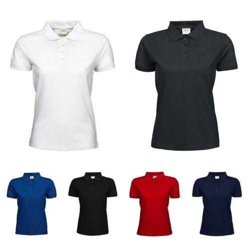 Tee Jays Damen Polo Shirt S-3XL waschbar bis 60°C Heavy Piqué 1401 NEW