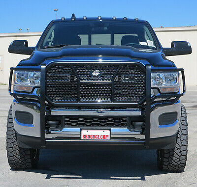 Truck Bumper Guard >> New Ranch Style Grille Guard 2019 2020 Dodge Ram 2500 3500 Steelcraft HD | eBay