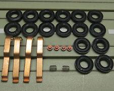 Ersatzteilset für Faller Motoren -- 16 Reifen, 4 Schleifer, 4 Kohlen + 2 Federn