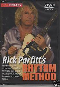 Learn-to-Play-RICK-PARFITT-GUITAR-DVD-LICK-LIBRARY-Status-Quo-RHYTHM-METHOD-Solo