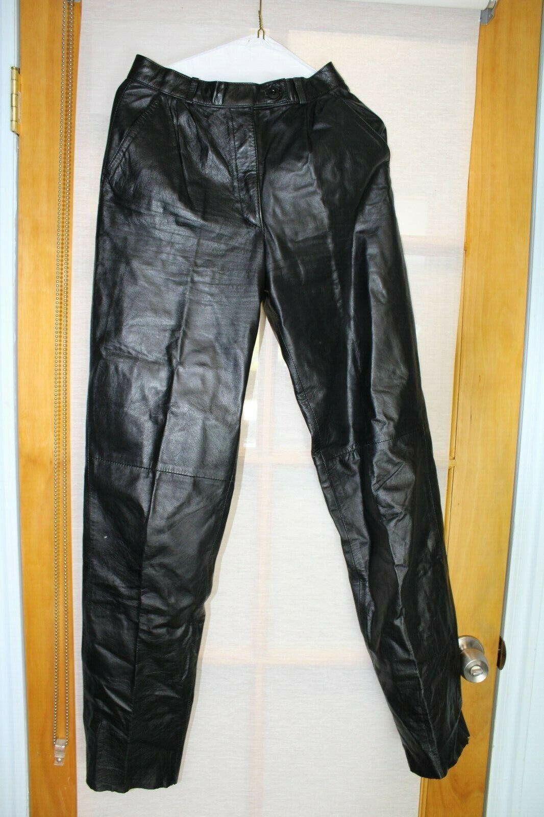 Vintage 1970's CASABLANCA leather PANTS