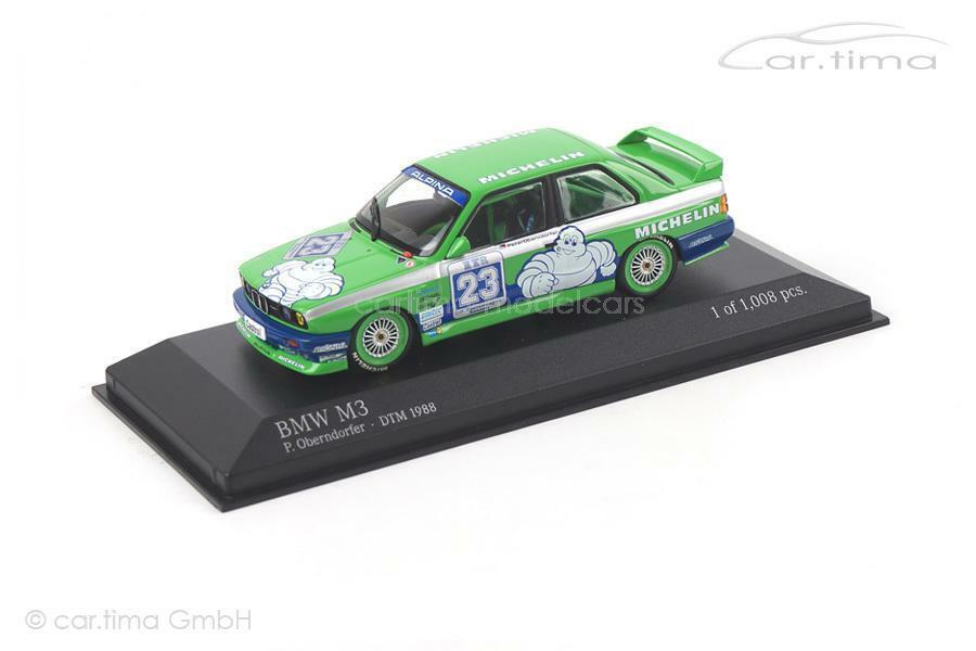 BMW m3 DTM 1988-Peter Oberndorfer - 1 of 1.008 - Minichamps - 1 43 - 4308820