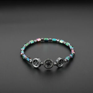 Boho-Women-Beautiful-Hematite-Foot-Bracelet-Anklet-Star-Anklet-Gift-HO3
