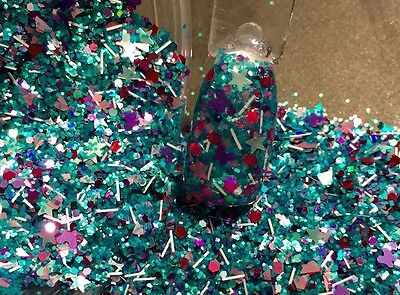 glitter mix acrylic gel nail Art  Crafts  No Doubt   Limited Edition