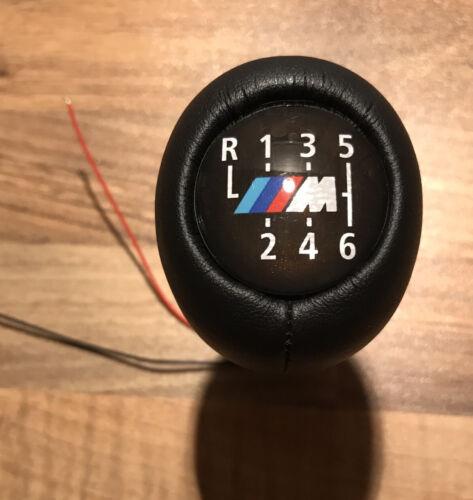 BMW M Power M Sport 6 Speed Illuminated Manual Gear Knob Stick ...