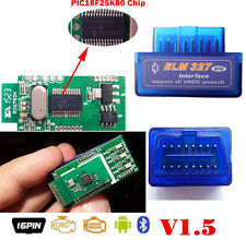 Super Mini OBD2 OBDII ELM327 V1.5 Bluetooth Adapter Auto Scanner Android Torque