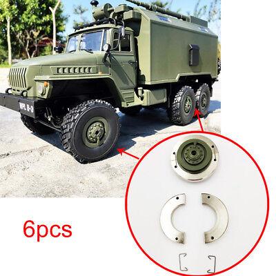 6pcs Metallfelge Internes Gegengewicht Für RC Car 1//16 WPL B-14 B14K Truck 4