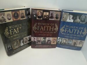 Women-of-the-Faith-in-the-Latter-Days-3-Volumes-LDS-MORMON-HARDCOVER