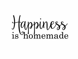 graphic about Happiness is Homemade referred to as Information more than Pleasure Is Do-it-yourself Estimate Wall Decal Detachable Decor  Do it yourself Indicator 2002