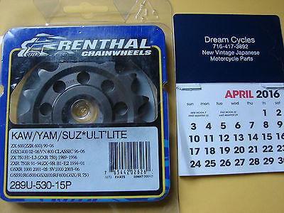 Renthal Sprocket Front 14T 530 Ultralight Steel Suzuki 289U-530-14P