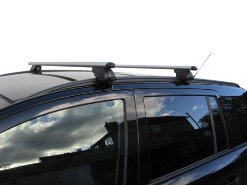 Aluminium Aero Dynamic Roof Rack Rail Bars LockableVauxhall Zafira 2005-2006