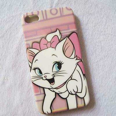 Lovely Mary Cat Hard Back Case Cover Skin For Iphone 4G 4S