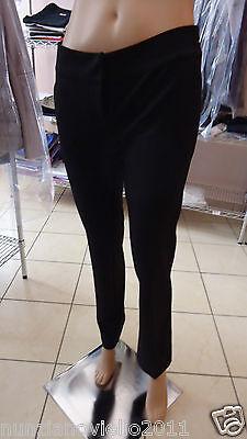 Gaudì Donna - PANTALONE Luxury Black Velvet - Cod.708