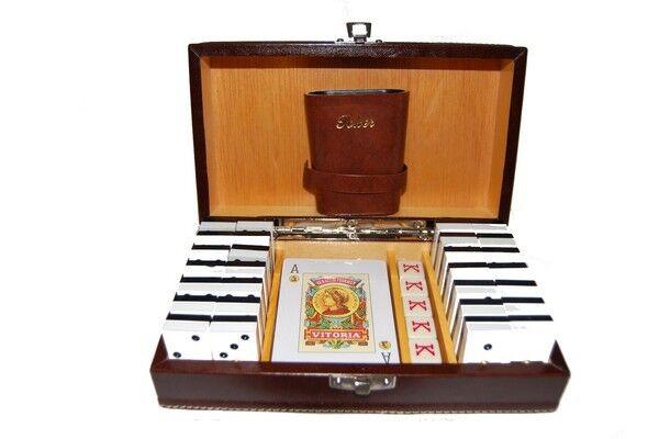 L'achat en deux parties est poli, très satisfait Estuche Juegos Juegos Juegos de Mesa. Dominó 507/R 3636b7
