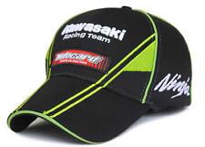 Men women f1 kawasaki black baseball hat cap motorcycle sport casual cap sunhat