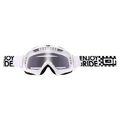 Oneal B-flex Goggle Launch Bianco Moto Cross Mx Occhiali Mtb Mountain Bike Moto-