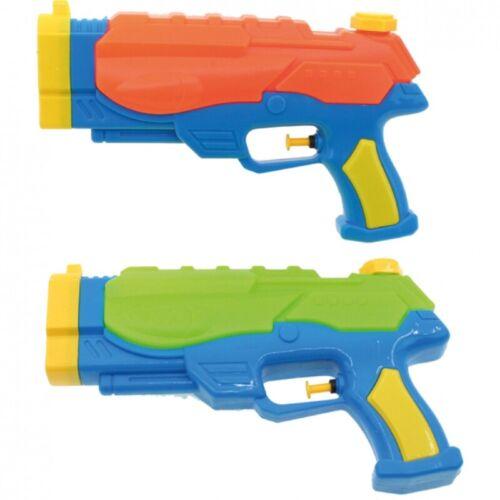 2x Wasserpistole Wasser-Pistole Spritzpistole Kanone Water Gun mit Tank 24 cm