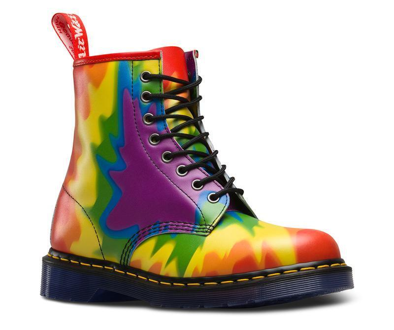 Grandes zapatos con descuento Dr Martens 8 Loch 1460 Backhand Multiprint 23330102