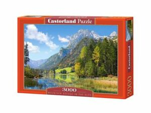 "Castorland Puzzle 3000 Pieces - Mountain Refuge - 36"" x 27"" Sealed box C-300273"