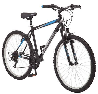 Mens Mountain Bike Bicycle 26 Suspension Frame Full Shimano 18 Speed Bikes Boy