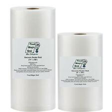 Vacuum Sealer Bags 1-8x50 & 1-11x50 Food Magic Seal for Food Storage Bags