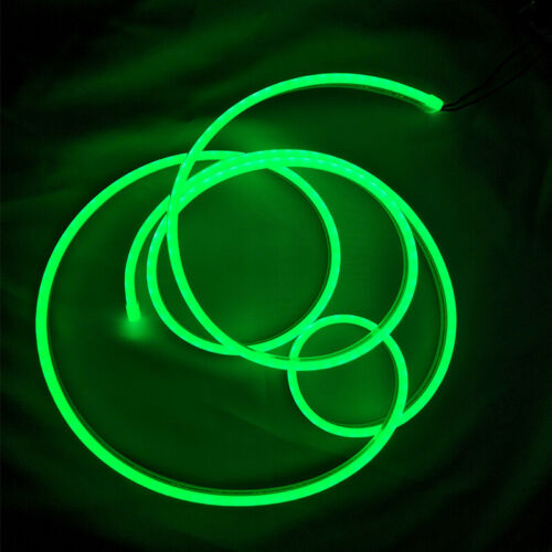 Green LED Neon Flex Rope Light Party Home Commercial DIY Sign Decor Outdoor 220V