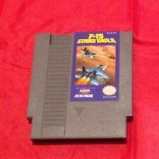 NES Nintendo Game F-15 STRIKE EAGLE Rare CLASSIC