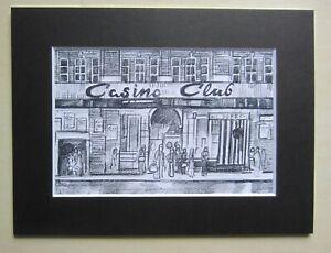 Northern-Soul-Wigan-Casino-Mounted-Print-034-Casino-Club-034