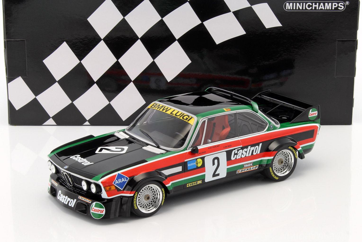 BMW 3.0 CSL Luigi ganador coche 1976 limitada 804pc 1 18 Minichamps 155762502