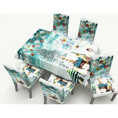 Brilliant Christmas Table Cloth Table Cover Stretch Short Chair Pabps2019 Chair Design Images Pabps2019Com