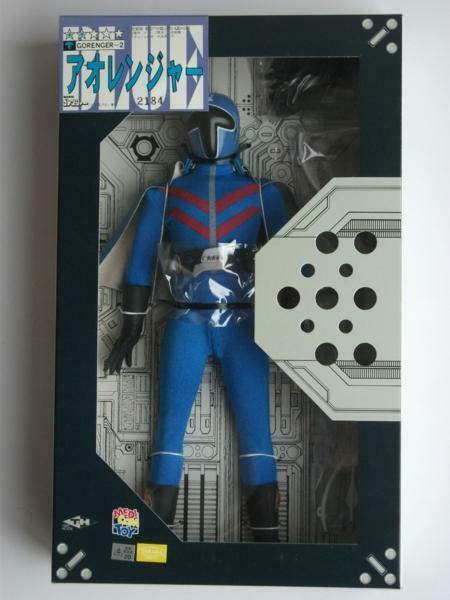 Medicom Toy Real Action Heroes AOranger Blau GOranger Action Figure from Japan