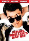 Ferris Bueller's Day off 2013 Release R1 DVD Matthew Broderick