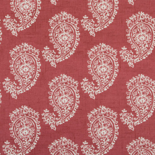 Raspberry red paisley Wipeclean pvc nappe toile cirée tailles multiples