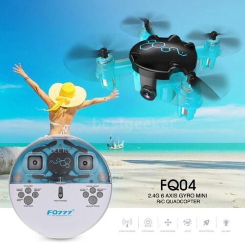 FQ777 FQ04 2.4G 4CH 6-axis Gyro Mini Pocket RC Drone 0.3MP RTF Quadcopter Q0M9
