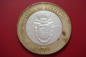 Mexico $100 Pesos Silver Bi-Metalic State Of Guerrero 2005