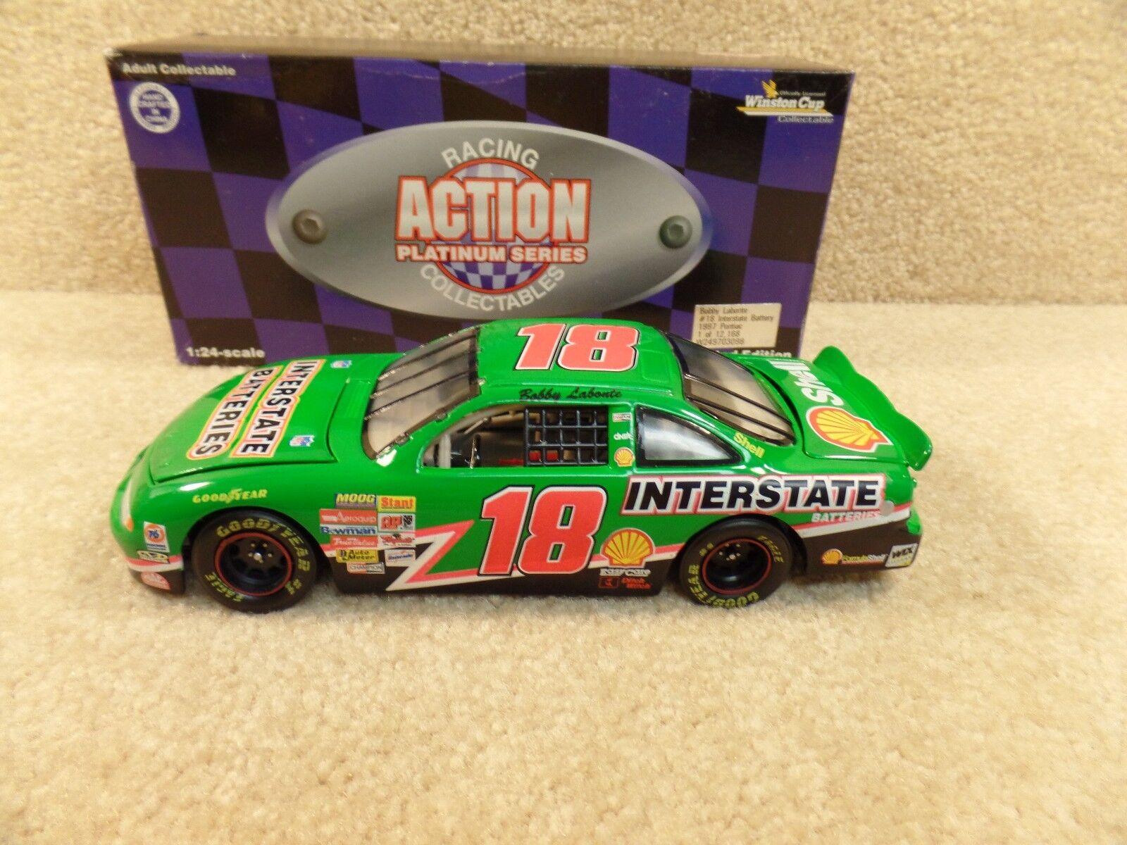 New 1997 Action 1 24 Scale Diecast NASCAR Bobby Labonte Interstate Pontiac