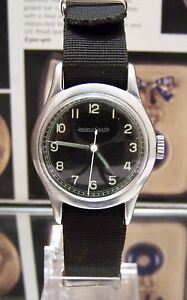 JAEGER-LECOULTRE-VINTAGE-1940-039-S-WW2-RAF-6B-159-PILOTS-MILITARY-WATCH-BLACK-DIAL