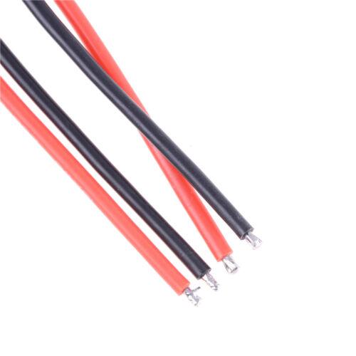 1paar Mini Tamiya Stecker Männlichen und Weiblichen 2pin Batterie draht 16AWG №w