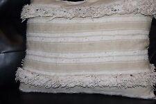 Gorgeous Moroccan HANDIRA Wedding Blanket throw Pillow from vintage Handira