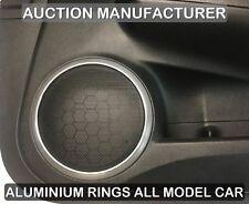 MAZDA 6 GH 2007-2012 Chrom Ringe für Lautsprecher Türlautsprecher Aluminium
