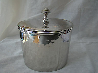 Metal Canister Cottonball Holder Bathroom Storage Decor for Bath Used 101506