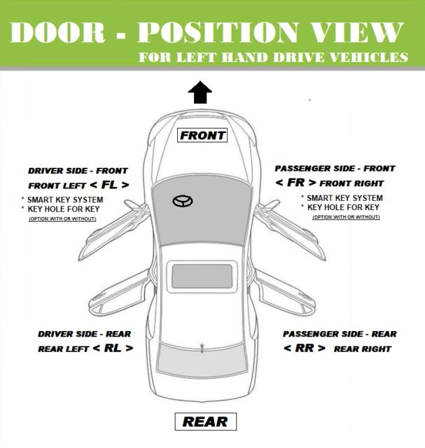 For 1992-1996 Toyota Camry Outside Door Handle Cashmere Beige Metallic 4M9 Left