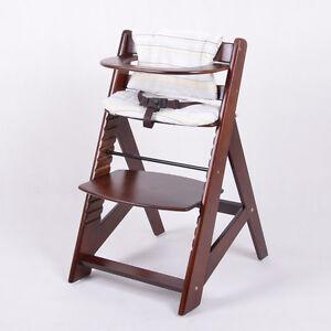 Chaise Haute En Bois Ajustable Bebe Escalier