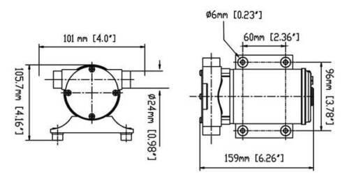Bilgepumpe für Boot Seaflo 12volt 30 Liter Minute Boot Pump