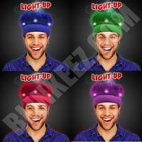 Years Led Light Up Crazy Spirit Hair Flashing Wig Headband - So Fun