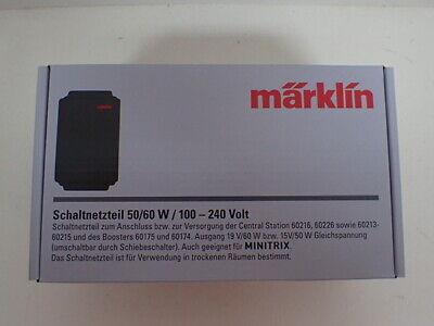 60174 Märklin H0 60041 Schaltnetzteil 60 VA für 60216 60175 NEU+OVP 60226